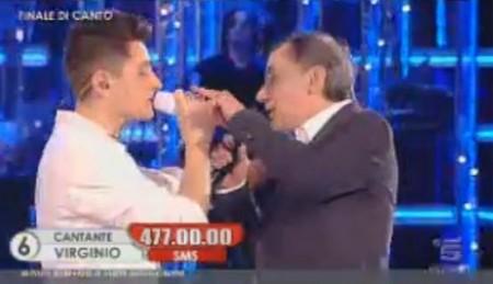 Amici10 finale Virginio Roberto Vecchioni