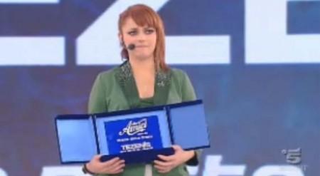 Amici10 finale premio critica annalisa scarrone