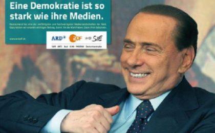 Germania, Tv di Stato difende la libertà di stampa contro il 'rischio Berlusconi'