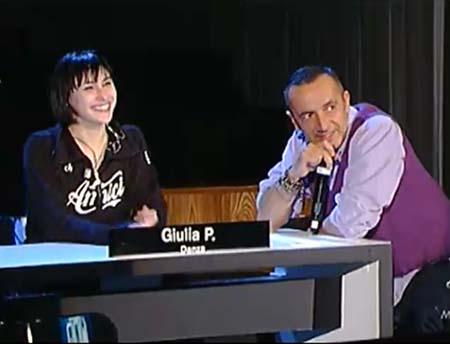 Giulia Pauselli speciale Amici 5 3 2011
