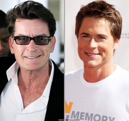 Rob Lowe al posto di Charlie Sheen in Two and a Half Men?