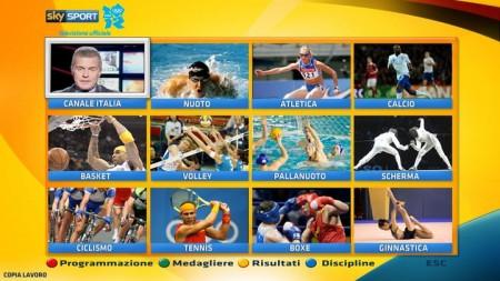 Olimpiadi Londra 2012: eccezionale copertura tv di Sky