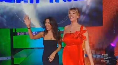 GF11 semifinale Sabrina ferilli Alessia Marcuzzi