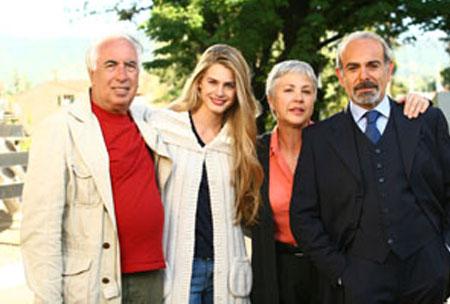 Fiction Rai, Giulio Berruti e Vanessa Hessler sul set