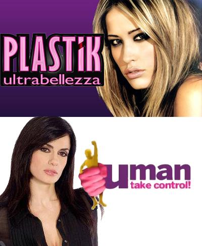 Italia 1, Elena Santarelli per Plastik e Rossella Brescia per Uman Take Control