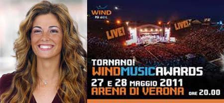 Wind Music Awards 2011, torna Vanessa Incontrada