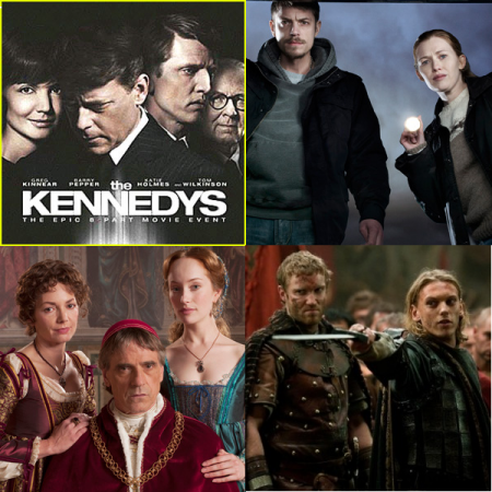 Ascolti Usa, buoni debutti per Camelot, The Borgias, The Killing e The Kennedys