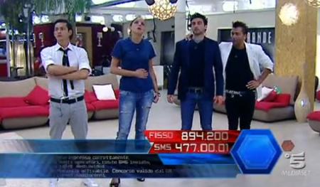 Grande Fratello 11, i quattro finalisti: Andrea, Marghe, Jimmy e Ferdinando