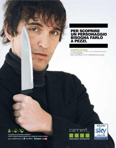 Current TV, Giuseppe Cruciani debutta con il suo Tritacarne
