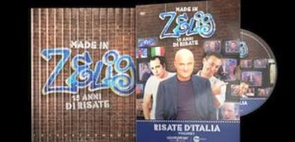 Made in Zelig, 15 dvd per celebrare il meglio del cabaret di Canale 5