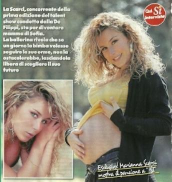 Amici, la ballerina Marianna Scarci è incinta