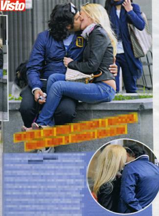 Grande Fratello: baci tra Mauro Marin e Olivia Lechner