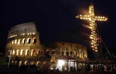 via crucis colosseo1