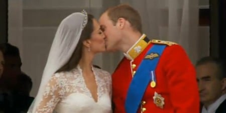 william kate sposi bacio