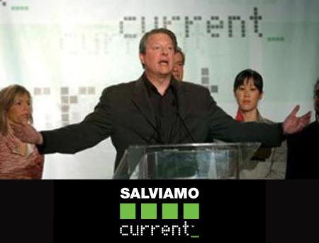 """Current, Al Gore: """"Ecco perché Sky ci cancella"""""""