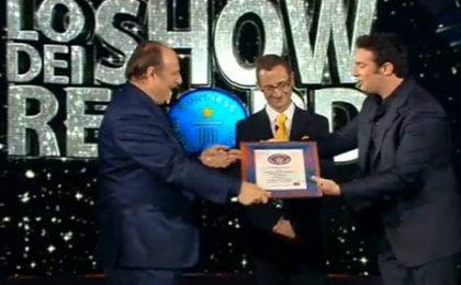 Ascolti tv giovedì 5/5/2011: Lo Show dei Record chiude in bellezza
