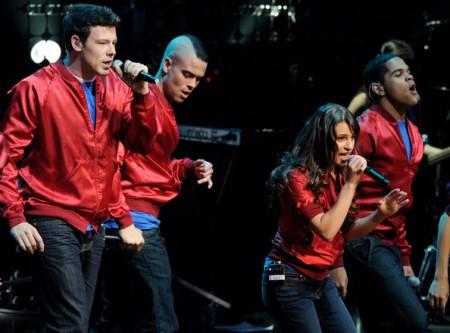 Il tour di Glee nei cinema; record per l'annuncio della morte di Osama e altre novità