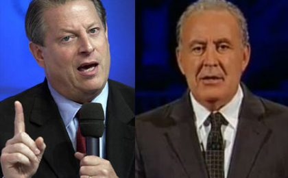 Annozero tra Al Gore, censura tv e Amministrative 2011