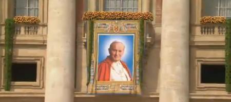 beatificazione wojtyla arazzo beato giovanni paolo ii
