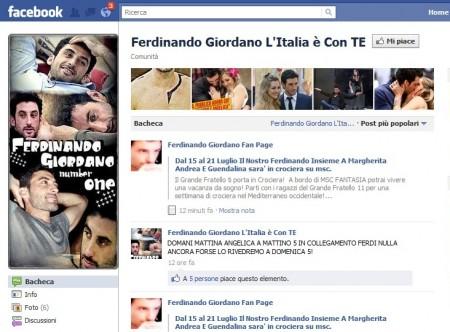 ferdinando giordano facebook italia