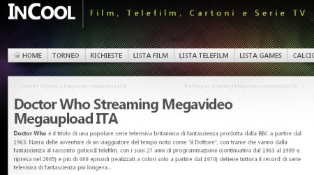 incool streaming doctor who