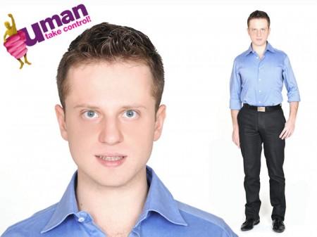 Uman Take Control, i concorrenti: Luca Tassinari