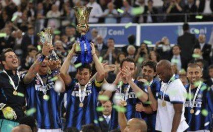 Ascolti tv domenica 29 maggio: 8 mln per la finale di Coppa Italia Inter-Palermo