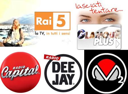 Digitale terrestre: chiude Glamour Plus, Rai 5 sul web, Radio Deejay sbarca su TivùSat