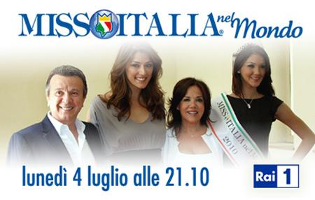 Miss Italia nel Mondo 2011 slitta al 4 luglio
