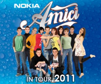 Amici in Tour 2011, tutte le date