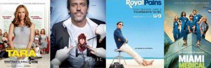 Canale 5/Italia 1: stasera e domani arrivano Tara, House 7, Royal Pains 2 e Miami Medical