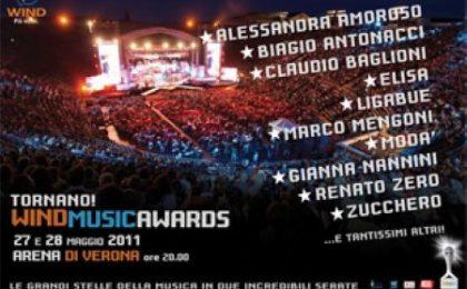 Wind Music Awards 2011: le esibizioni della prima puntata (video)