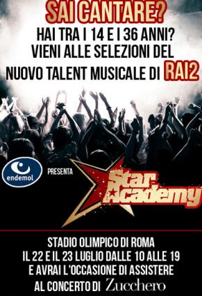 Star Academy: nuovi casting allo Stadio Olimpico di Roma