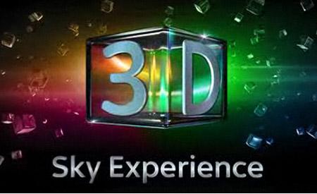 Sky, dal 6 settembre un canale tutto in 3D