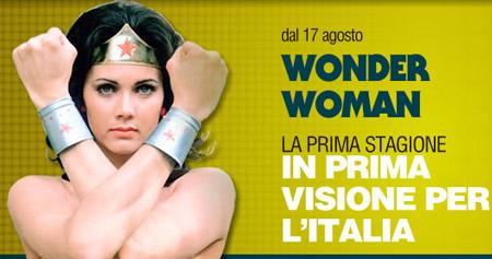 Wonder Woman, la serie completa (inedita in Italia) da oggi su Fox Retro