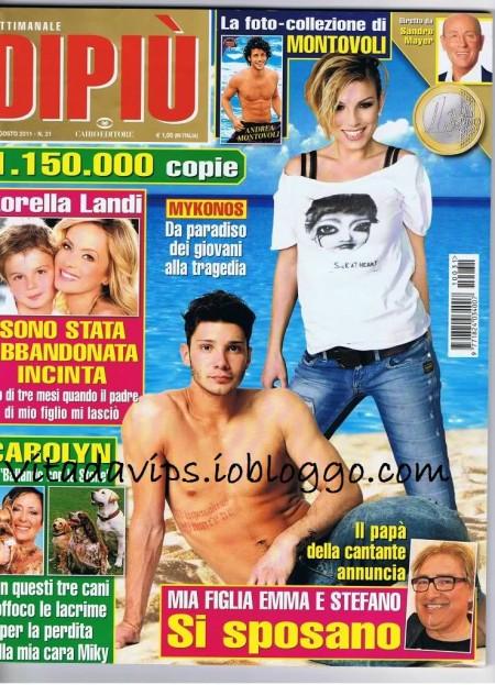Emma Marrone e Stefano De Martino: le nozze nel 2012