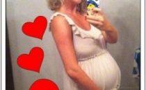 Alessia Marcuzzi incinta, le foto
