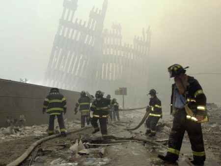 11 settembre 2001 pompieri