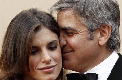 Elisabetta Canalis fuggita dall'Italia per dimenticare Clooney