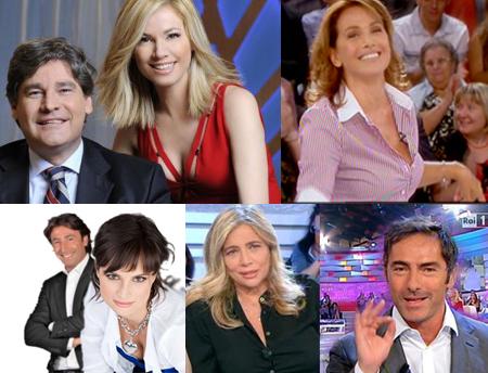 Mattino Cinque, Pomeriggio Cinque, Italia sul Due e La Vita in Diretta: si riparte!