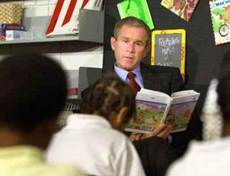 George W Bush 11 settembre 2001