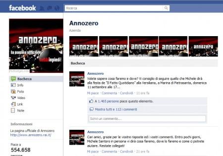 Michele Santoro, il ritorno in tv passa da Facebook