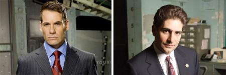 Pilot: Melissa George in Nemesis, Michael Imperioli e Adrian Pasdar in 40 di HBO