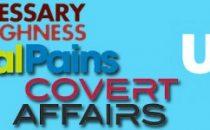 Usa Network rinnova Covert Affairs, Royal Pains e Necessary Roughness