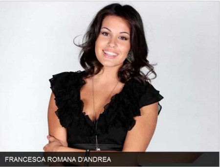 Star Academy, i concorrenti: Francesca Romana D'Andrea
