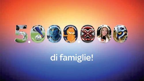 Sky, 5 milioni di abbonati e sport e film in regalo; record di ascolti per Terra Nova su FOX Italia