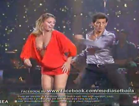 Baila seconda puntata_emanuela Andrea_disco
