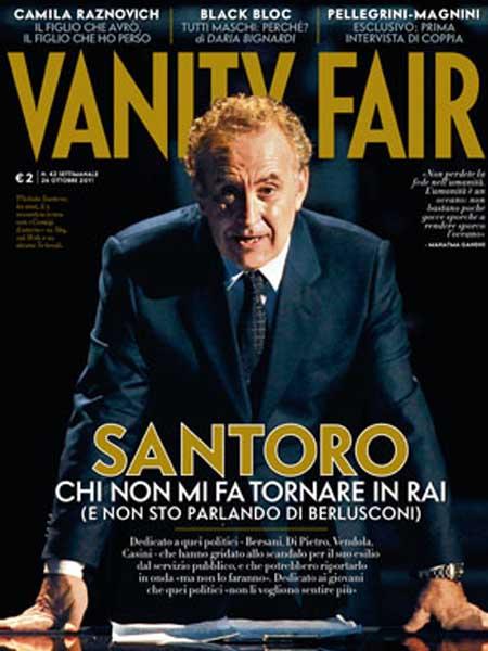 """Santoro attacca la Sinistra: """"Incapaci di riportarmi in Rai"""""""