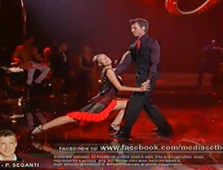 baila seconda puntata_de micheli seganti