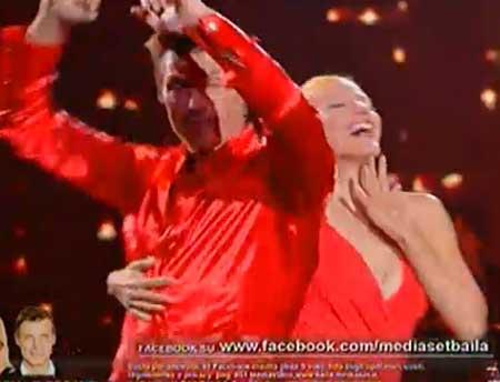 baila seconda puntata_de micheli seganti_salsa